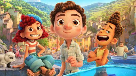 Luca: Diretor explica porque a animação da Pixar se passa na Itália dos anos 50