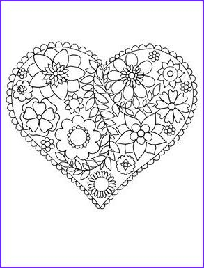 45 Awesome Photos Of Easy Adult Coloring Pages In 2020
