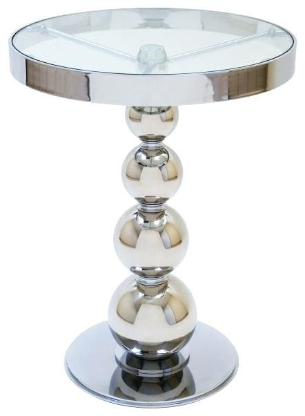 Encouraging Glass Side Table Round Snapshots Awesome Glass Side
