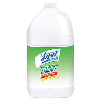 Lysol Disinfectant Pine Action Cleaner 1 Gallon Lysol Cleaners Multipurpose Cleaner