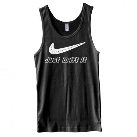 Just Drift it in our #mens #car #JDM #tank #tops