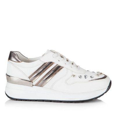Detaylari Goster Haiem Beyaz White Spor Ayakkabi Ayakkabilar Kadin Bot
