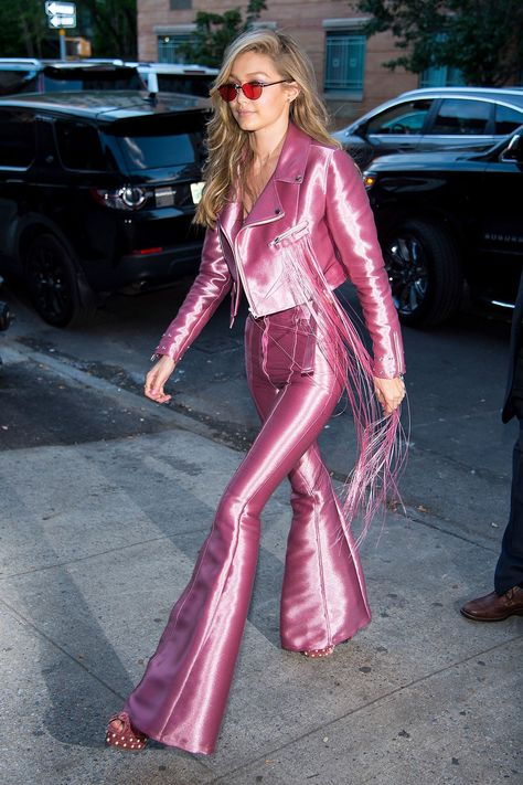 """Gigi Hadid arriving to her Vogue Eyewear Launch in New York City """