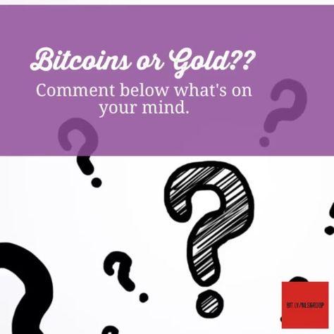 gold #bitcoin or #gold