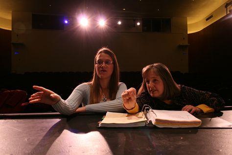Emily Schmidt and Professor Susan Baxter