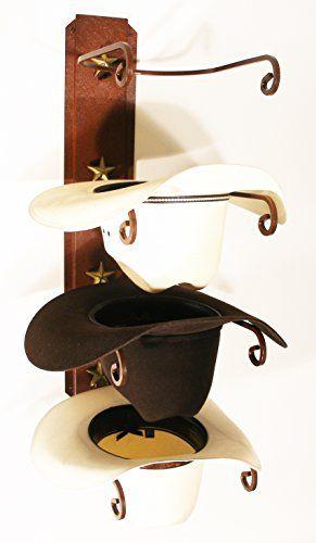 American Made Cowboy Hat Holder STAR