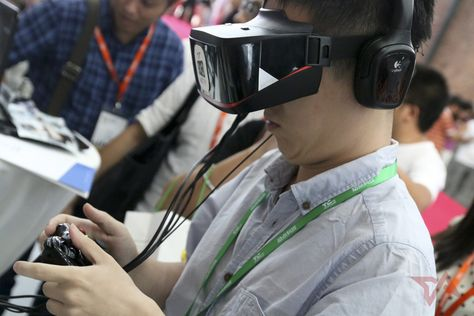 China is warming up to VR