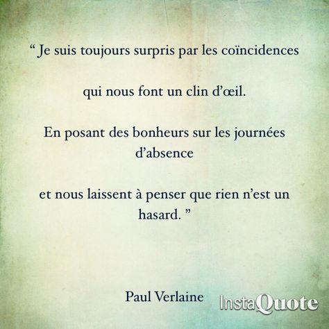 Paul Verlaine Citations Sur Les Mots Citation Citations