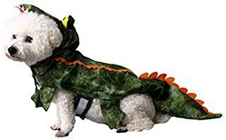 Ropa de Cocodrilo para Perros POPETPOP Disfraces para Mascotas Talla XXL Disfraz de Invierno de Calentar para Mediano Peque/ño Grandes Perros Disfraz Festivo