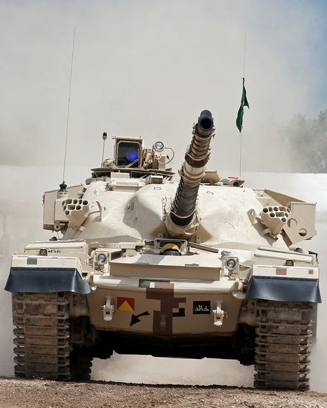 Khalid Tank | by jw021979 - The Khalid pronounced The Immortal Tank) is a main battle tank jointly developed by Pakistan and China during the 1990s.] The original prototype was known as the MBT-2000. Around 300 Al-Khalid tanks were in service with the Pakistan Army as of 2009 with unconfirmed reports mentioning 500 tanks in 2009.