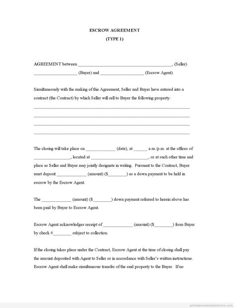 Printable Sample Buyout Agreement Form  Legal Forms