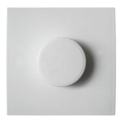 Variateur Rotatif Diall Blanc En 2020 Blanc Castorama Et Decoration