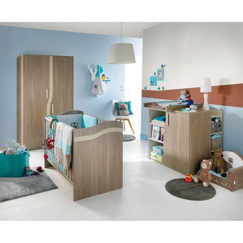 Chambre Pablo, Chambres nature  Aubert Baby bedroom Pinterest - exemple de couleur de chambre