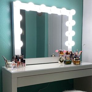 Low Shipping Financing Vanity Mirror With Lights Etsy In 2021 Hollywood