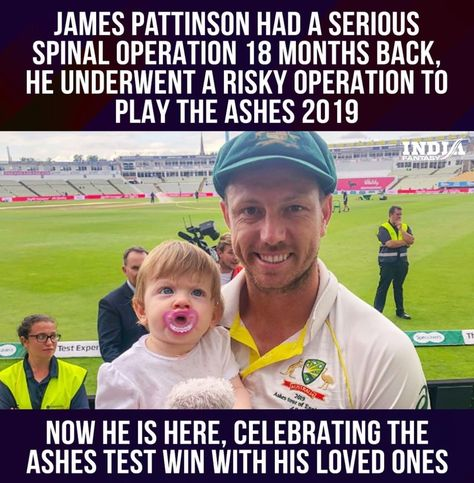 An inspirational turnaround by James Pattinson. #cricket #jamespattinson #ashescricket2019