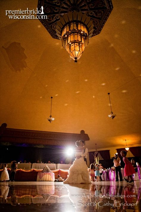 Beautiful Bride At The Chandelier Ballroom In Hartford Wi Image By Mia S Photo Greater Milwaukee Wedding Reception Venues Pinterest Ballrooms