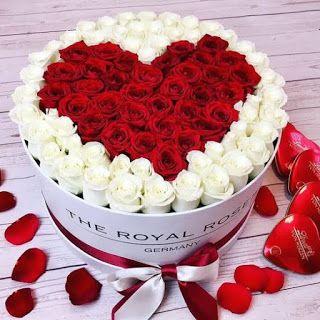 صور ورد وقلوب بوستات حب و رومانسية للفيس بوك Flower Bucket Flower Box Gift Flower Gift