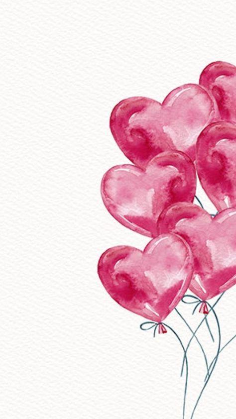 heart balloons #valentinesday