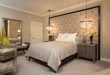Bedroom Chandeliers And Mini Chandeliers At The Bedside Bedroom