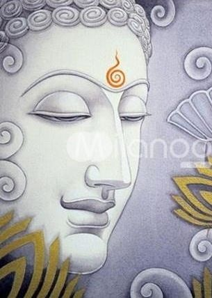 Lord buddha peace pencil color and charcoal on paper art charcoals and acrylics pinterest buddha lord and peace