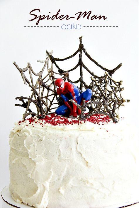 A Spider-Man Cake