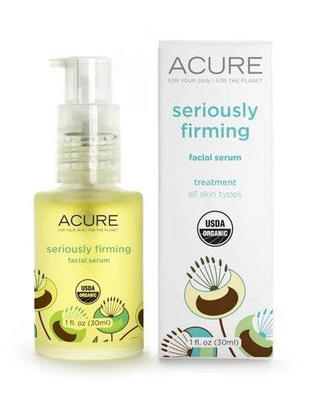 Acure's Seriously Firming Facial Serum Giveaway