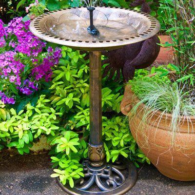 Solar Fountain House Solarfountaindiy Solarfountainpatio Diysolarfountain Solar Fountain Diy Solar Fountain Bird Bath