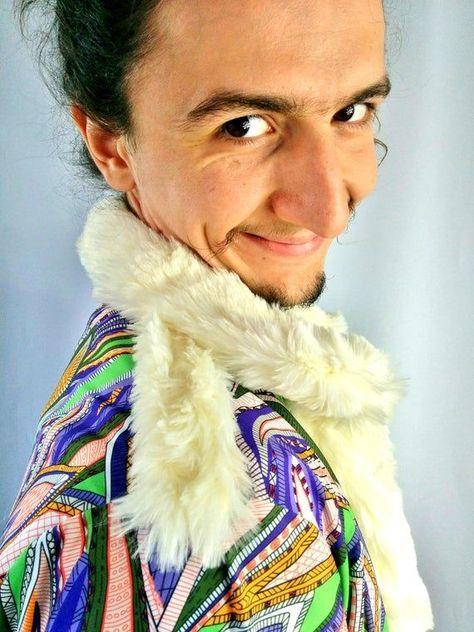 Anubis Pimp Jacket |Long Bomber Jacket|Bohemian Clothes|Music Festival Clothing|Gangster Fashion|Bur