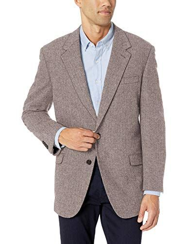 Polo Assn U.S Mens Big and Tall Wool Blend Sport Coat