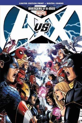 Avengers Vs X Men Limited Signed Edition Marvel Comic Books Avengers Marvel Events