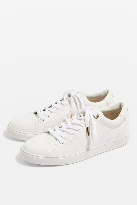 CURLY Lace Up Trainers   Lace up