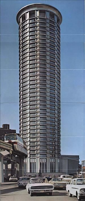 Washington Plaza Hotel Opens In Seattle On June 29 1969 Historylink Org Washington Plaza Plaza Hotel Olympic Hotel