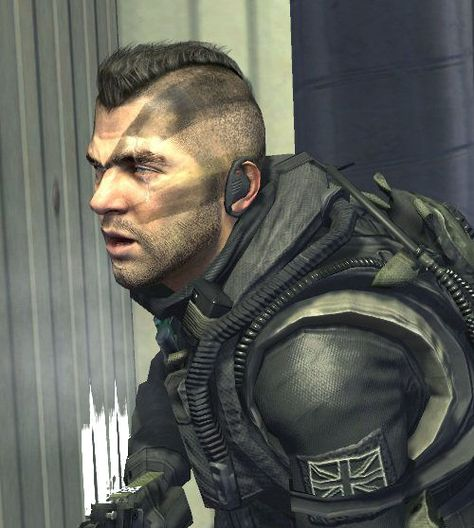 John Soap MacTavish warhawk haircut.