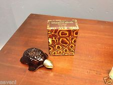 Avon Treasure Turtle Perfume Bottle