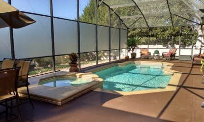 Outdoor Privacy Screens For Patio Pool Enclosures Privacy