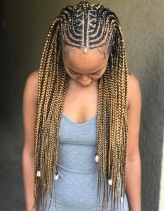 35 Tribal Braids Styles Fulani Braids Braids With Beads Hair
