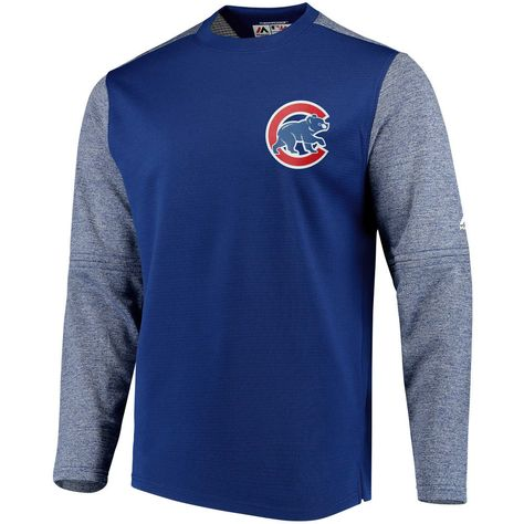 a8b38fa6 Chicago Cubs 2018 Authentic Collection On-Field Tech Fleece Pullover  Sweatshirt by Majestic #ChicagoCubs #Cubs #MLB #EverybodyIn