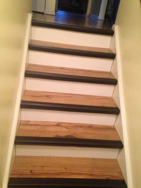 Contrast #stair Nosing Makes #steps Safer And Looks Stylish. Which  Contrasting Color Would You Choose? (Photo By A Real Koffler Customer!)