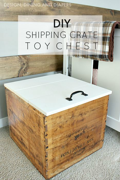 Diy toy Chest with Lid   Bookshelves