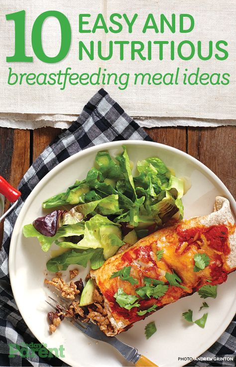 Are you #breastfeeding? These meals are delicious, nutritious and incredibly easy to put together!
