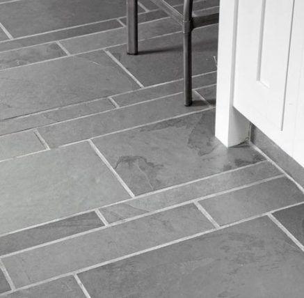 Kitchen Grey Floor Tiles Grout 37 Best Ideas Kitchen Patterned Floor Tiles Kitchen Floor Tile Slate Kitchen