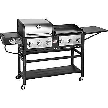 Outdoor Gourmet Triton 7 Burner Propane Grill And Griddle Combo Gas Grill Propane Grill Gas Barbecue Grill