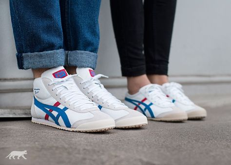 onitsuka tiger mexico mid runner schuhe xs