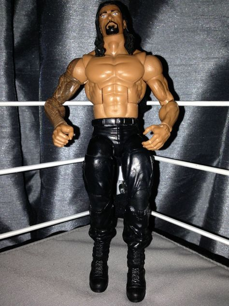 "WWE CM PUNK /'ICE CREAM Bar /""Custom Shirt pour Mattel figures."
