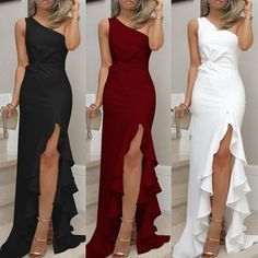 SUNSIOM Womens Formal Prom Ball Gown Evening Party Cocktail Bridesmaid Ladies Maxi Dress
