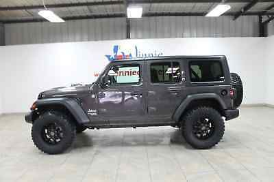 2018 Jeep Wrangler Unlimited Sport S 4x4 2018 Jeep Wrangler Unlimited Wrangler Unlimited Sport Jeep Wrangler Unlimited