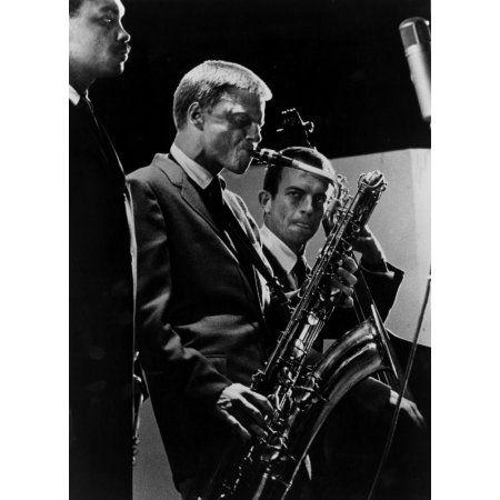 Jazz On A Summer's Day, Gerry Mulligan, 1960 Music Photo - 30 x 41 cm