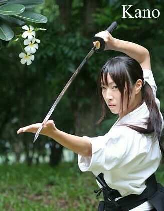 Woman Fencer 女剣士 Kano 327×421 40.93KB