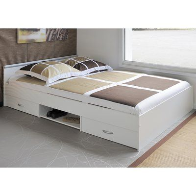 Latitude Run Torrence Storage Platform Bed Wayfair Bed Designs With Storage Platform Bedroom Sets Furniture