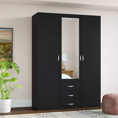 Brayden Studio Hartranft Armoire Wayfair Wardrobe Design Bedroom Wardrobe Door Designs Bedroom Furniture Design
